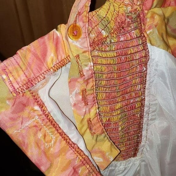 50's Vintage Floral Romper Swimsuit - image 8