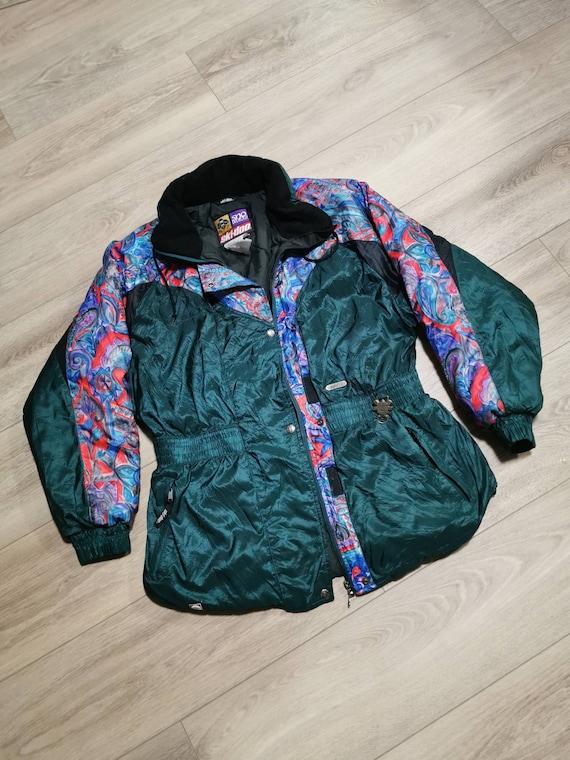 Vintage 90s Ski-doo Winter Jacket | Ladies Vintage