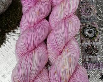 "Coloring ""Cherry Blossom"", wool silk dream"