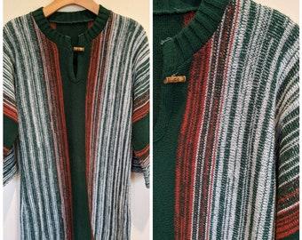 70s space dye tunic sweater, 70s tunic, 70s sweater, 70s space dye, vintage sweater tunic, Fall tunic sweater, fall sweater, vintage sweater