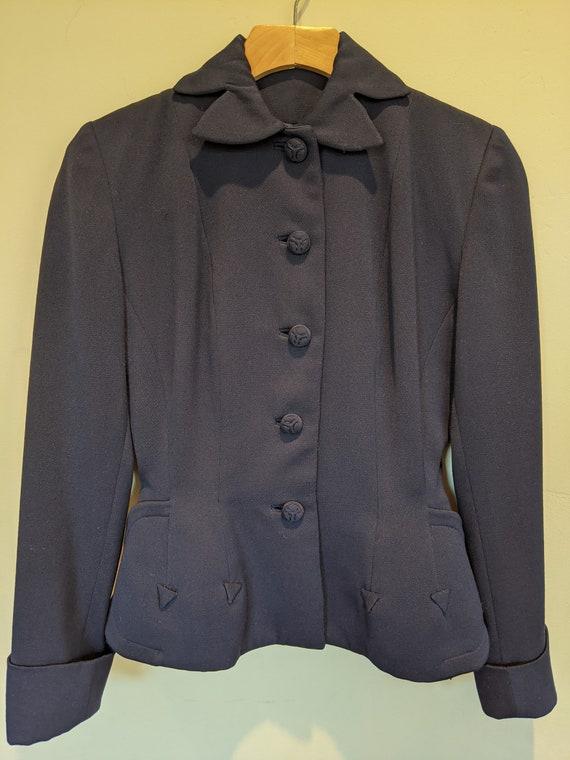 30s jacket, gabardine jacket, 30s jacket with peta