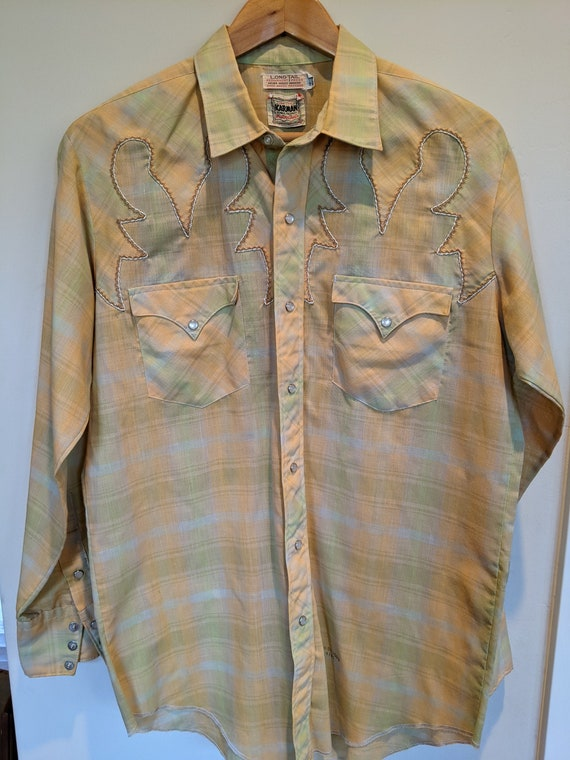 50s rockabilly western shirt
