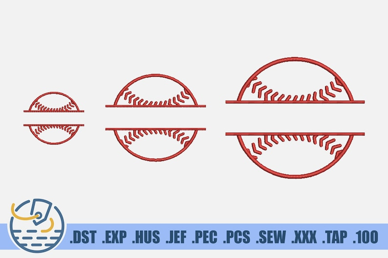 Instant Download Softball Logo For Player Form Machine Satin Stitch For Clothing Decoration Baseball Monogram Frame Embroidery File