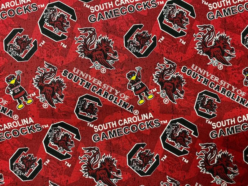 100/% Cotton Fabric NCAA College University New Georgia Tech Tennessee Villanova Tone On Tone Prints Florida South Carolina Miami