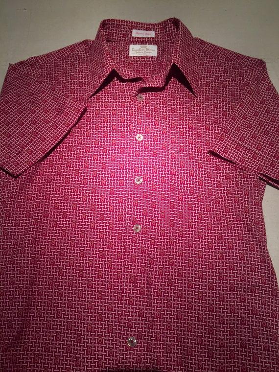 vintage 70's mens shirt - image 2