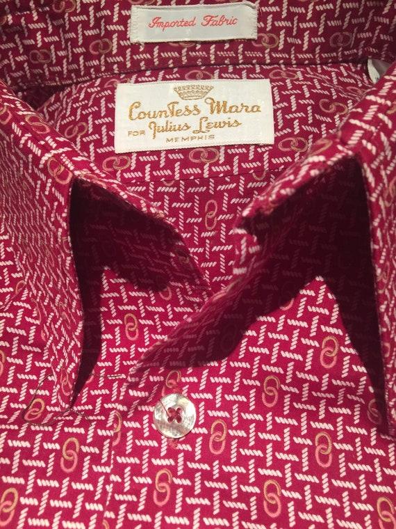 vintage 70's mens shirt