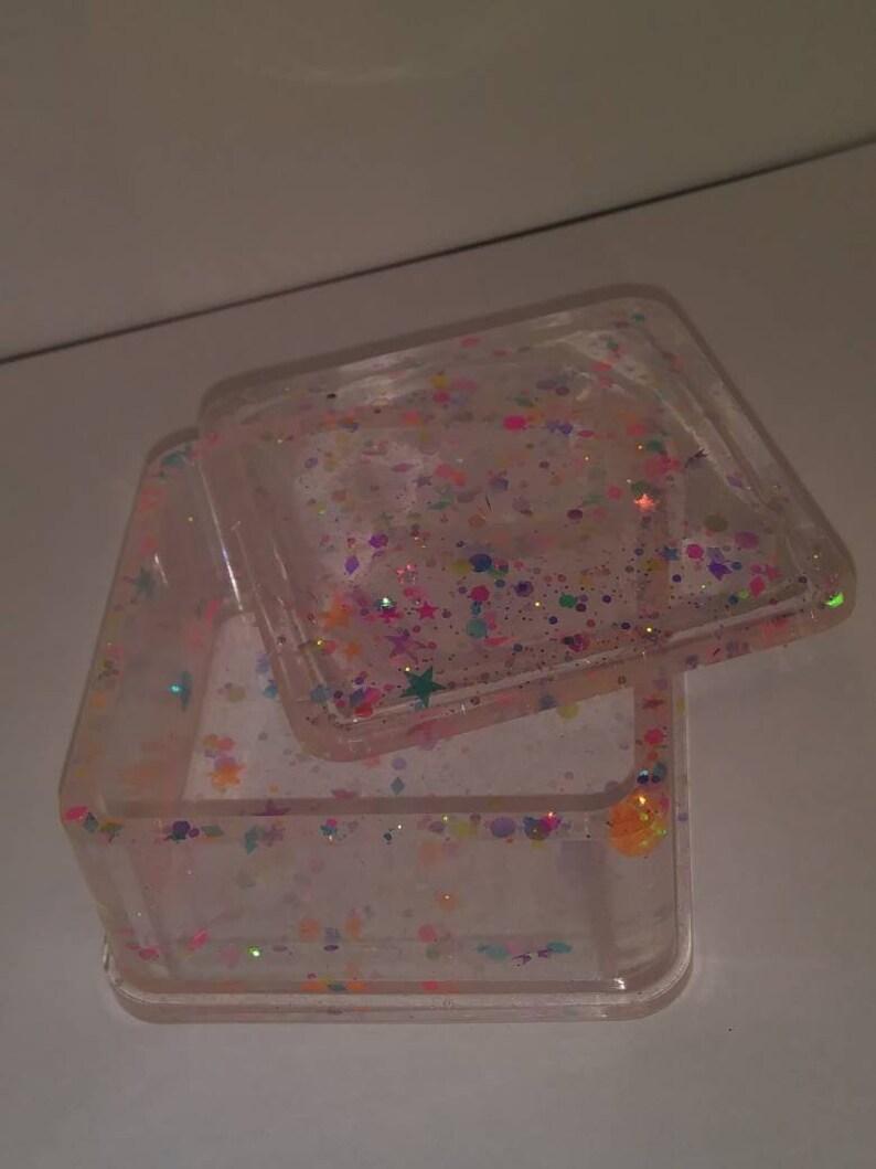 Resin trinket box