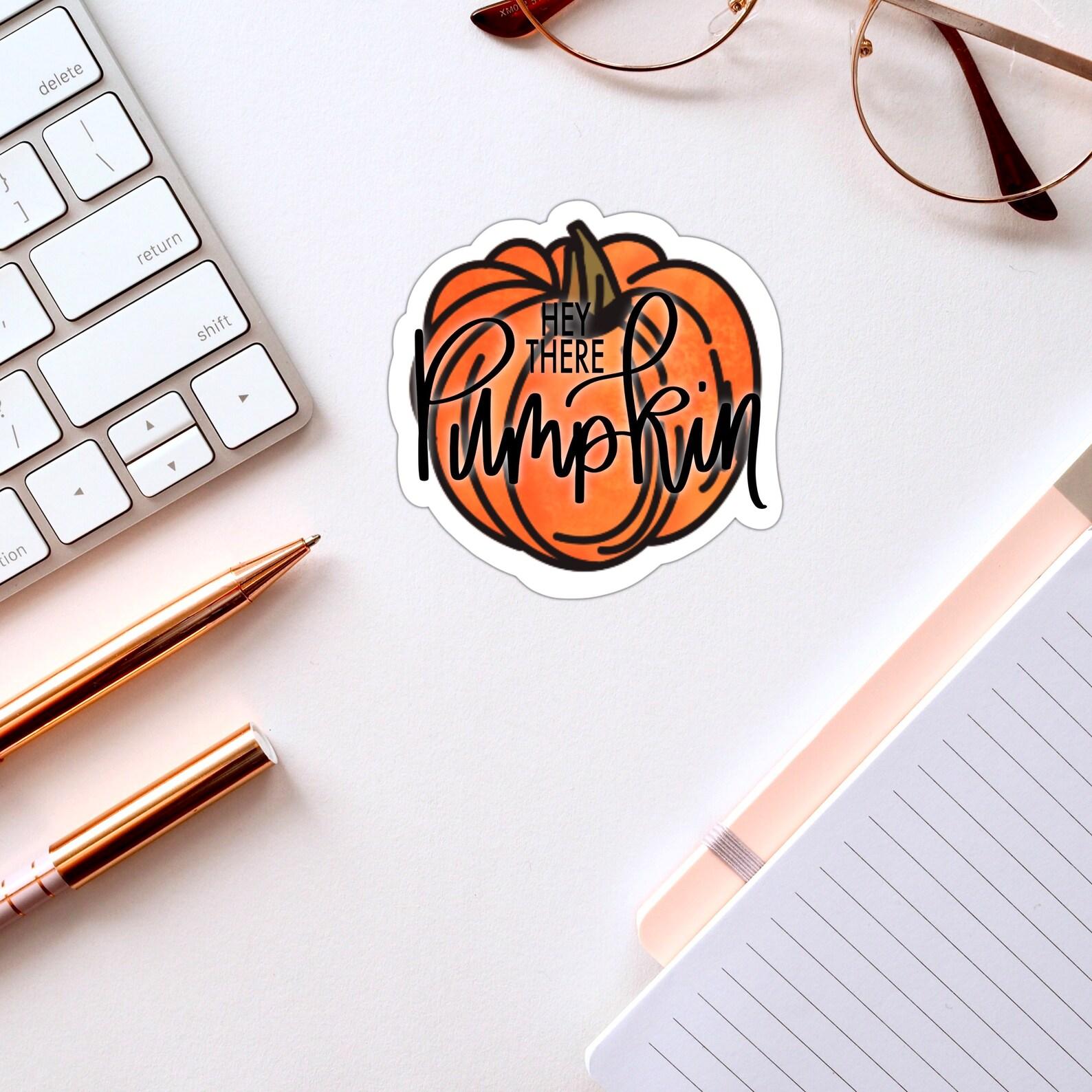Hey es Kürbis süße Herbst Gruß Herbst Ernte Hallo Vinyl   Etsy