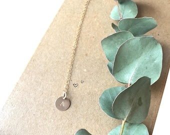 Personalised Gold Initial Necklace, Gifts For Her, Gifts For Girlfriend, Gifts For Friend, Special Birthday, Mothers Day Gift