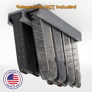 MAG-A-Rak Magazine Rack Organizing System for 9mm Pistol MOD1 **FREE SHIPPING**