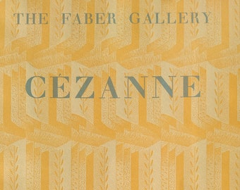 Cezanne, The Faber Gallery, with an introduction and notes by Adrian Stokes. 1952 2nd publication. Illustrated with Colour Plates, Paperback