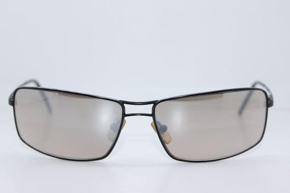 VERSACE vintage wrap sunglasses, 90s Luxury sun gl