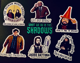 What We Do in the Shadows Sticker Pack. What we do in the shadows. Sticker. Vampire. Television. TV Show. Comedy.