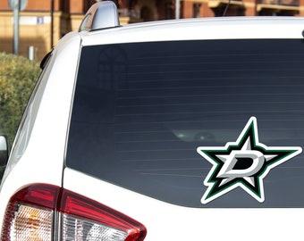 STARS Hockey vinyl decal DAL