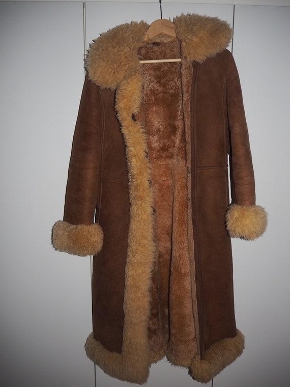 Rare Afghan 60's long coat