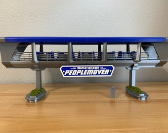 Peoplemover (Tomorrowland Transit Authority) Scale Model With Working LED Light and Sound!