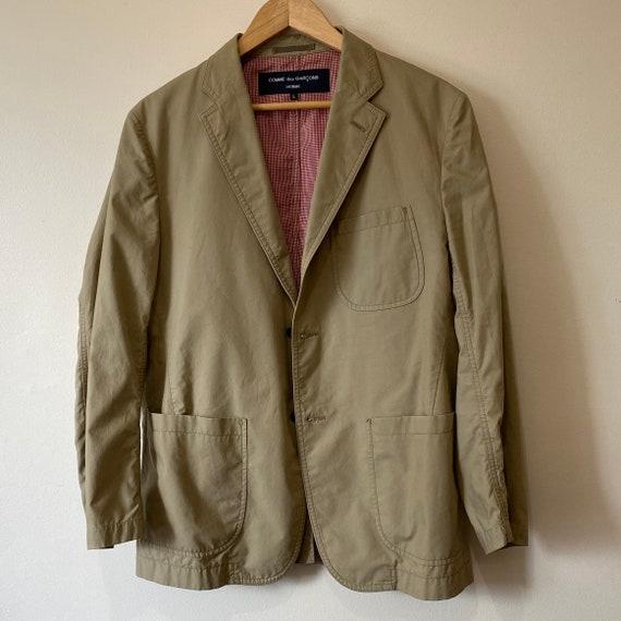 Commes Des Garçons Homme Tan Blazer Jacket