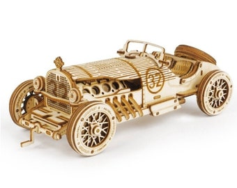 Wooden Car Kit Etsy