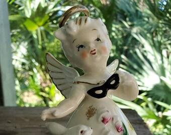 April Birthday Angel Figurine Precious Moments April BirthdayBirthstone Angel Figurine,Collectible Precious Moments Figurine,Vintage P.M