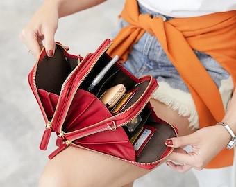 Mini Backpack - Women Handbag - Small Backpack Purse - Honeybee Bag - Trendy Backpack - Multi Functional Backpack - Women's Shoulder Bag