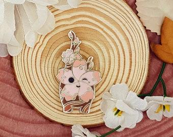 Korok pin with sakura blossom | Legend of Zelda