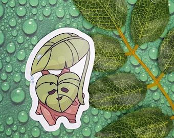 Korok sticker with umbrella | Legend of Zelda