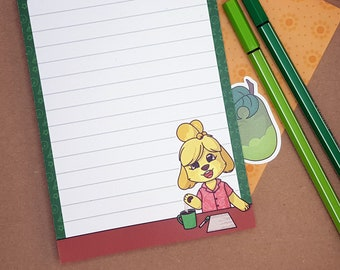 Isabelle notepad | Animal Crossing
