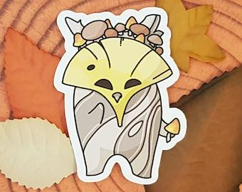 Korok sticker with crown | Legend of Zelda