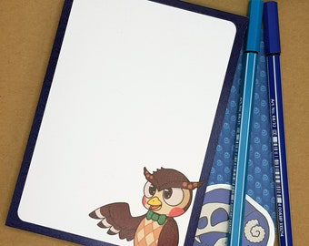 Blathers notepad | Animal Crossing