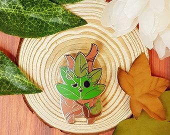 Korok pin with satchel | Legend of Zelda