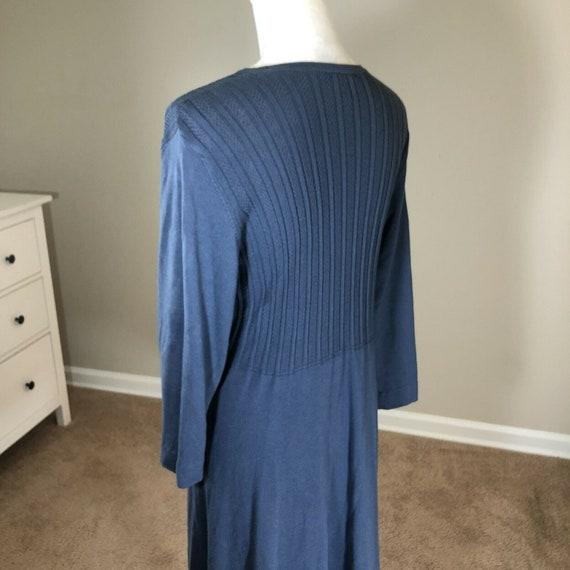 Laura Ashley Lightweight Sweater Dress 12 Vintage… - image 7