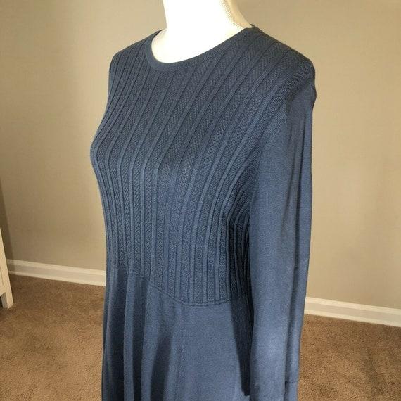Laura Ashley Lightweight Sweater Dress 12 Vintage… - image 8