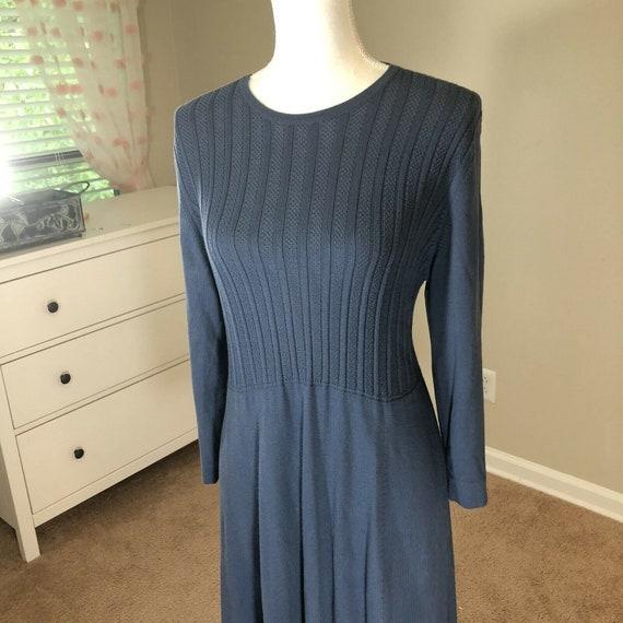 Laura Ashley Lightweight Sweater Dress 12 Vintage… - image 3