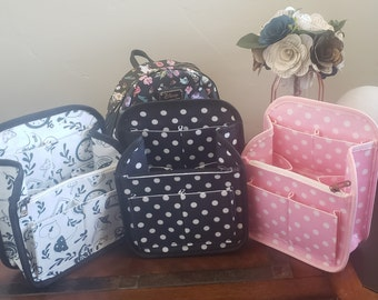 Mini Backpack Organizer Insert For Loungefly - Accessory - Storage - Gift