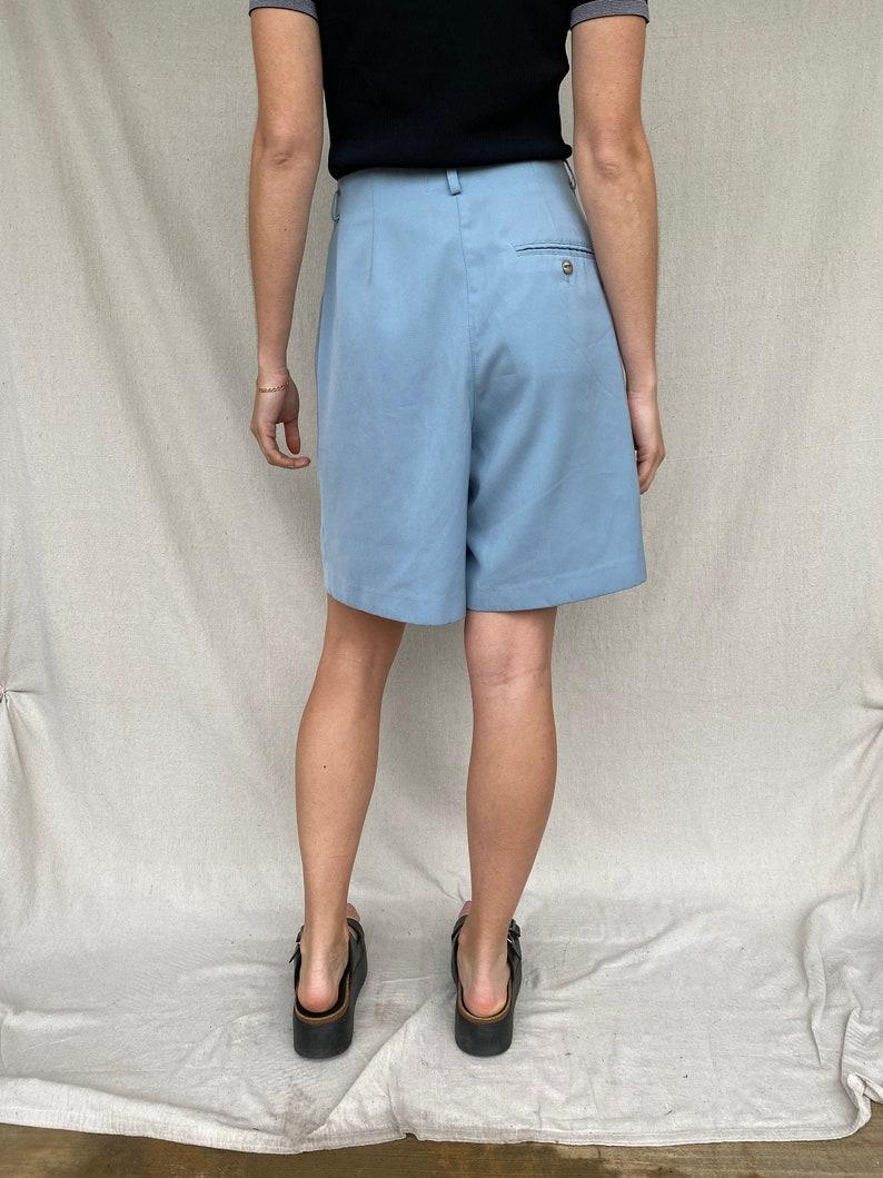 31 waist Vintage blue shorts