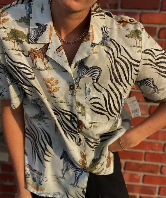 Vintage safari shirt