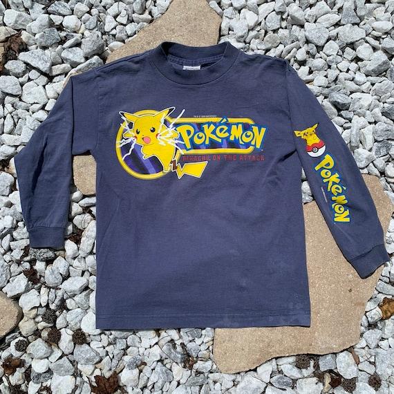 vintage 1999 pokemon long sleeve