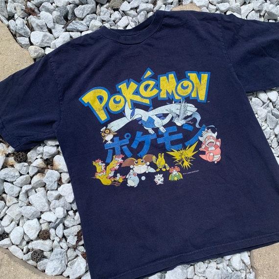 rare vintage 2000 pokemon graphic tee