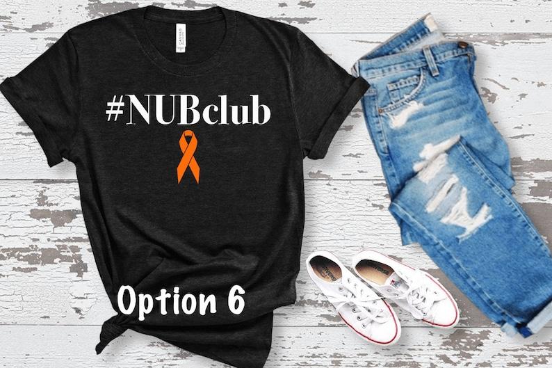 Nub Club Lucky Fin Shirt Limb Loss and Limb Difference Awareness Amputee Shirt Limb Difference Limb Awareness Shirt Limb Awareness