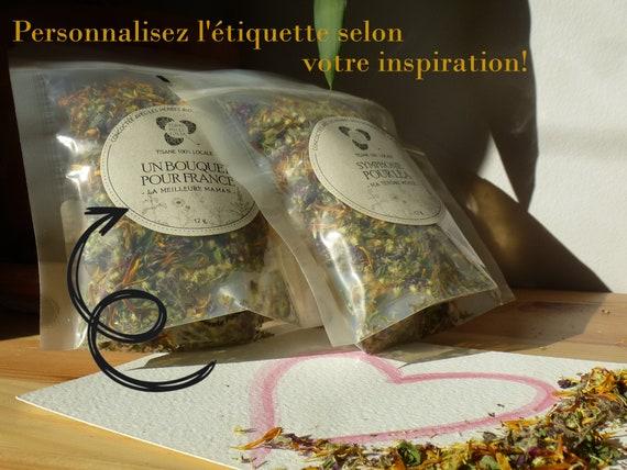 Customizable herbal tea gift