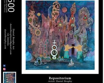 Repositorium: 500 Piece Art Puzzle
