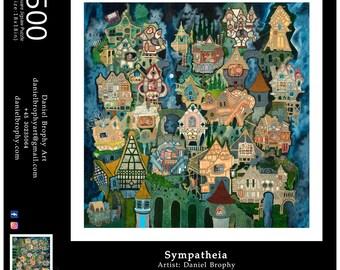Sympatheia: 500 Piece Art Puzzle
