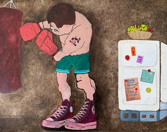 Boxer: Fine Art Print