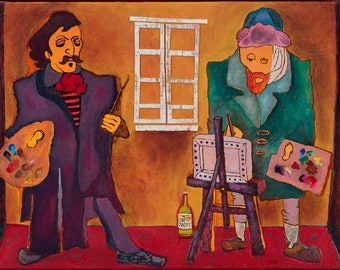 Yellow House: Fine Art Print