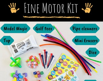 Fine Motor Kit Development Kit for Occupational Therapists, Parents, and Teachers