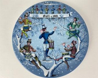 12 Days of Christmas Haviland Plates