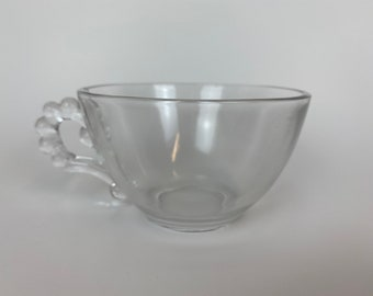 Imperial Glass Candlewick Tea Cup
