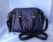 Women s crossbody, women s handbag, Disney inspired gift, Villain s inspired gift, evil fairy queen embroidered purse, gift for women