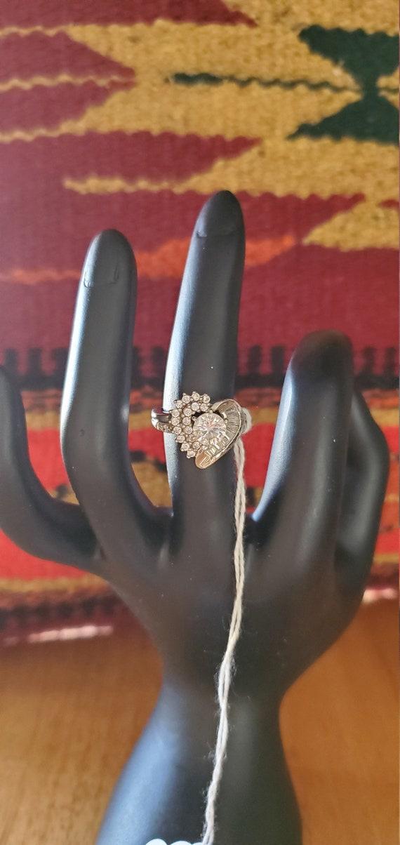CZ Heart ring