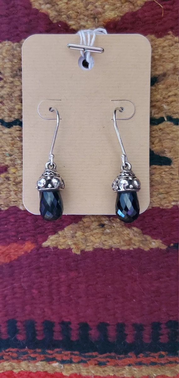Dangle Gemstone earrings